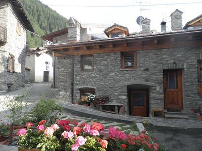 Photo for LA THUILE typical mountain house-70m2 - 2/4 pers. Two bathrooms. Recently refitted