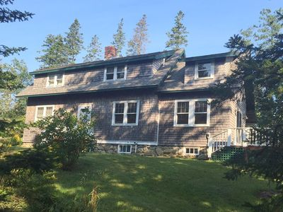 Photo for Secluded home with full kitchen & large deck! Full yard and dogs ok!