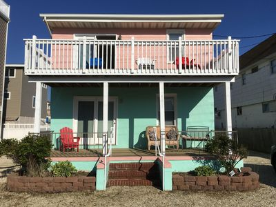 Photo for Top Floor Of Charming Oceanside LBI Duplex Beach House