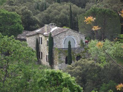 Photo for Large Provencal. Country house with private pool, piano, ideal for 2 families