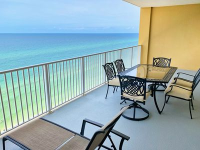 Photo for New 2019 Upgrades! Gulf-Front 2/2 Condo at Tropic Winds! Free Beach Service!