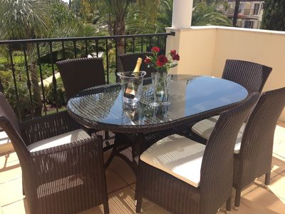 Photo for 5* Luxury 2 bed appt. in secure gated complex of Palmyra, Vila Sol. Wifi/TV.