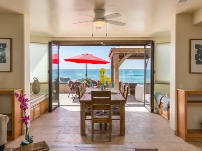 Photo for New Oceanfront unit w/ 4br/4ba,beach patio w/ private spa, bbq, A/C Equipped