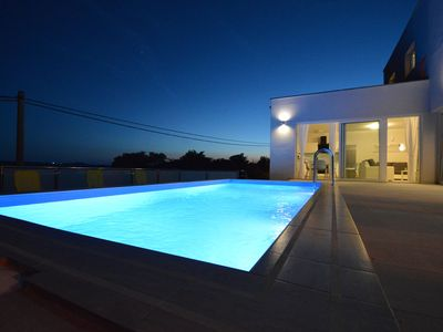 Photo for Charming holiday house with heatable pool and nice terrace 150 m from the beach