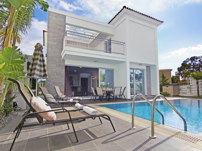 Photo for Stylish, Modern Villa, Private Pool and just 200 meters to the beautiful sandy beaches of Pernera!