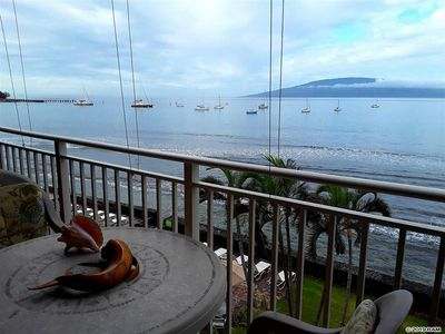 Photo for Incredible Ocean view, direct oceanfront 4th floor condo with AC, walk to Beach