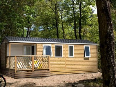 Photo for Camping Domaine de la Paille Low - Mobile Home 4 Rooms 6 People