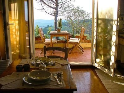 Photo for 1BR Apartment Vacation Rental in Morrona, Toscana