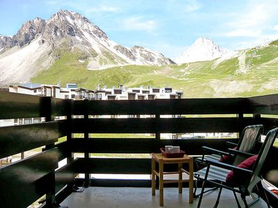 Photo for Apartment 471 m from the center of Tignes with Internet, Balcony (98741)