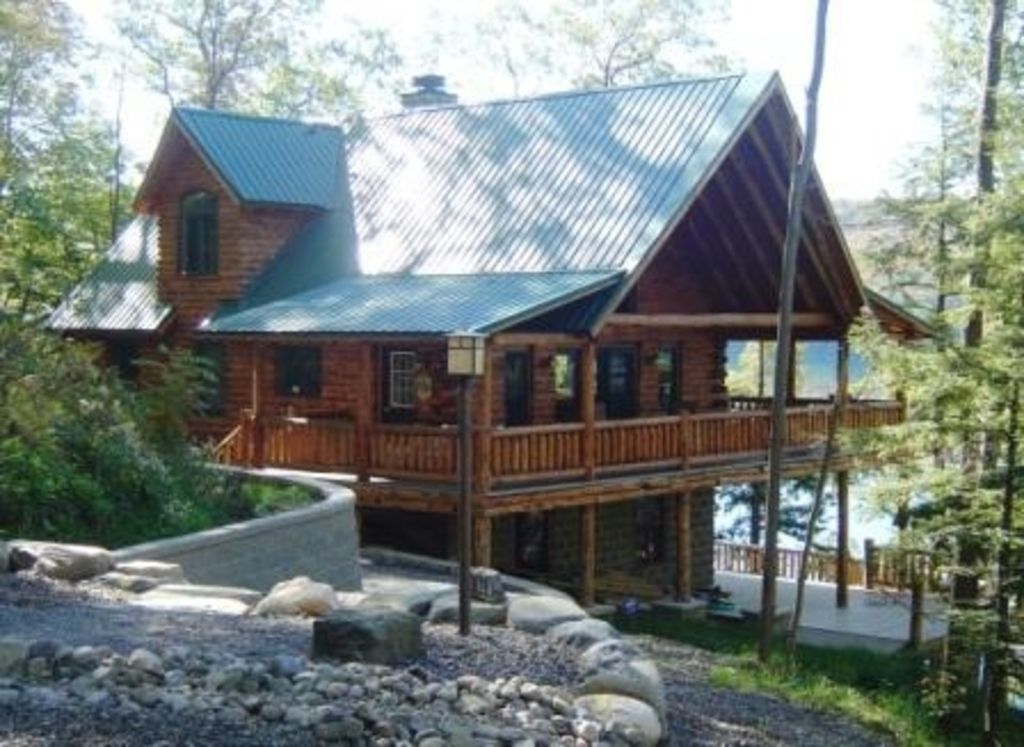 Log Home In The Woods ~ Luxury log cabin in the woods on skaneateles homeaway