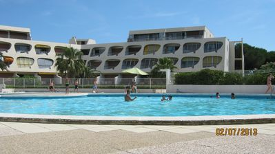 Photo for apartment ESCALE BEACH PORT CAMARGUE