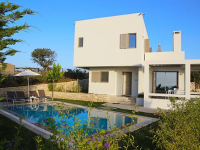 Photo for Villa Giasemi, brand new with private pool, near the beach, Sofia Luxury Villas