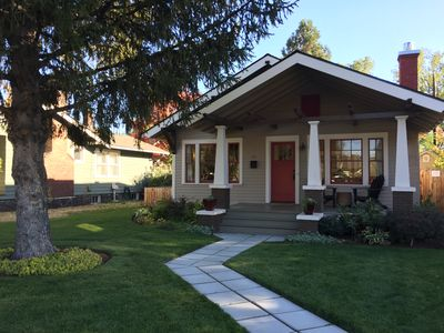 Photo for Historic Westside Craftsman Bungalow, Walk to Downtown