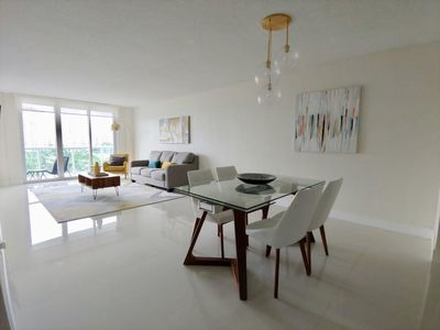 Photo for Modern unit right across the Beach on Sunny Isles.