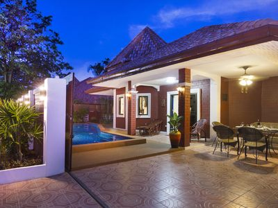 Photo for Villa Sabai with private pool, just 5 minutes from Pattaya / Walkingstreet