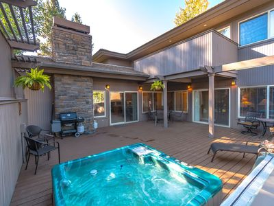 Photo for Bend Secluded, Luxury Townhome at Broken Top Club