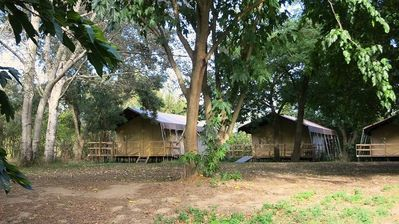 Photo for Camping Belle Rive *** - Lodge 3 Rooms 4/6 People