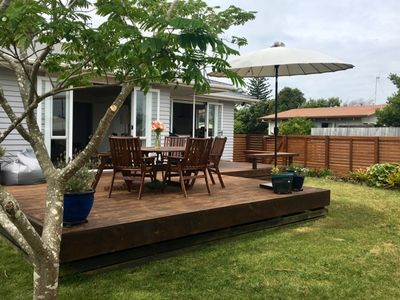 Photo for Family-friendly Mount Maunganui home by the beach