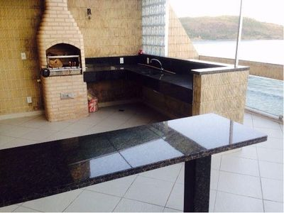 Photo for Duplex Penthouse in front of the beach with barbecue p / 16 people, 5 Baths