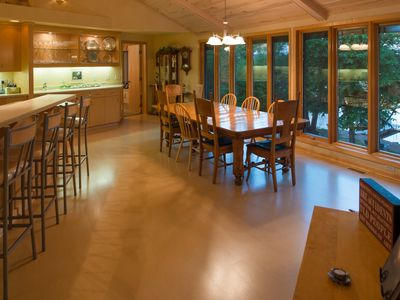 Photo for Stunning home on Wymer Lake, Frazee