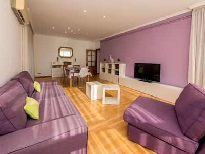 Photo for Les Corts Apartment, Sleeps 4 with Air Con and Free WiFi