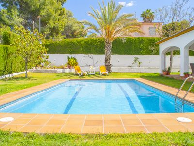Photo for Club Villamar - Great villa with private swimming pool and nice garden where you can enjoy unforg...