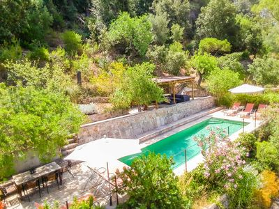 Photo for Spectacular mediterranean villa with private pool, A / C and WIFI