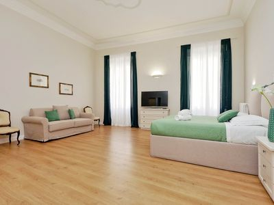 Photo for LUXURY APARTMENT FOR UP 12 PEOPLE IN THE CENTER OF ROME