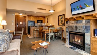 Photo for Perfect 1 Bedroom Ski-In Ski-Out Getaway in Sundial Lodge