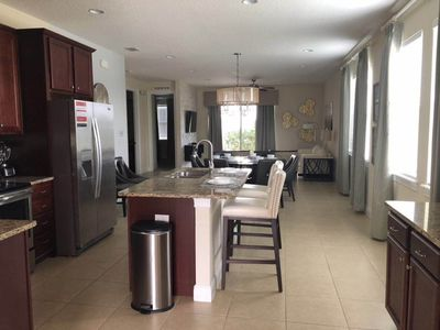 Photo for Luxury 7bedrooms 7 bathrooms vacation  resort/15 mins to Disney park/Theme rooms