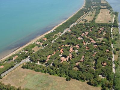 Photo for Apartment at the Sea in Tuscany for 5 People. 150m from the Beach