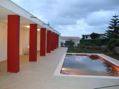 Photo for Modern with Pool Outside and Roof Top Terrace - Villa Cap de Font