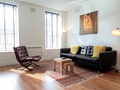 Photo for Engine Alley 2 bright moder and spacious city centre apartment.