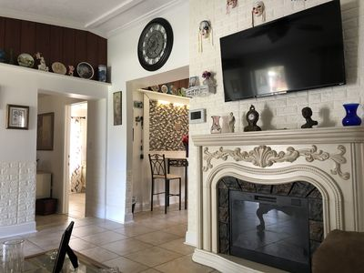 Photo for House, pool, updated kitchen, updated bathrooms, electric fireplace, & more..