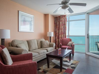 Photo for Cute! 2 bedroom, 2 bathroom, ocean front Condo!