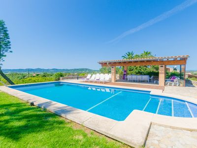 Photo for FINCA CAN SETRI - Villa with private pool in Sant LLorenç des Cardassar.