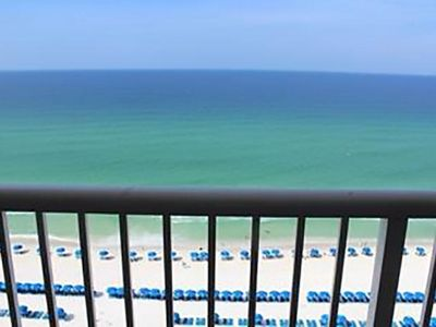 Photo for 2 BR / 2 BA beach front condo in Panama City Beach, Sleeps 6
