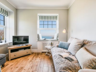 Photo for NUMBER SEVEN. Stylishly refurbished apartment with stunning sea views.