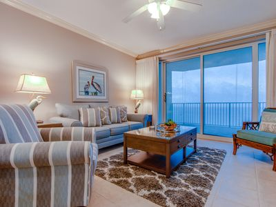 Photo for Luxury Gulf Front condo available now for your dream vacation in PCB!!