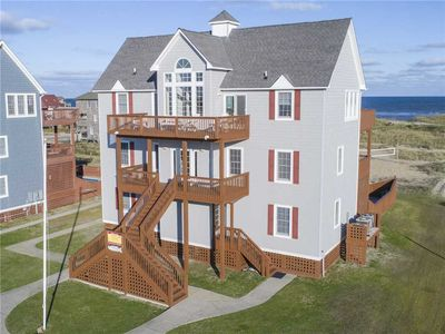 Photo for Oceanfront Rodanthe Charm- Pool, Hot Tub, Game Rm, Linens & Towels, Dog-Friendly
