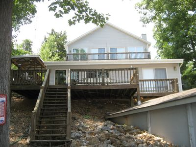 Photo for Nautical Nest Lake Home - 4br, 4 ba with boat slip 8mm
