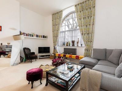Photo for Spacious & stunning Battersea Park flat!