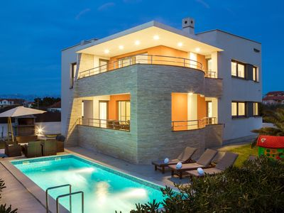 Photo for Beautiful modern villa with its private pool near Zadar and Zaton Holiday Resort
