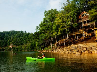 Photo for 3BR Cabin Vacation Rental in Watauga Lake, Tennessee