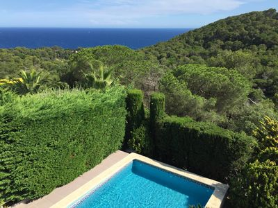 Wonderful views from the swimming pool.