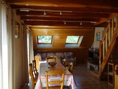 Photo for Apartment *** in chalet -WIFI private parking