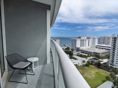 Southwest facing with Intracoastal and ocean views