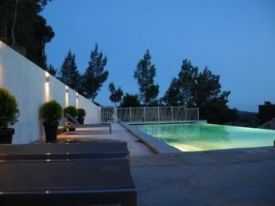 Photo for Exceptional sea, original contemporary villa, pool overflow