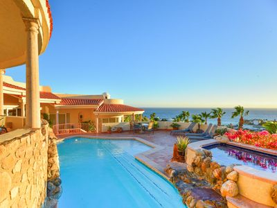 Photo for Comfortable Villa with Wonderful Pacific Ocean Views in Cabo San Lucas