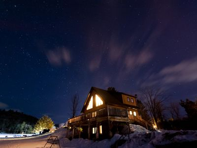 Photo for A traditional Quebec chalet nestled in the Gatineau Hills 30 minutes from Ottawa